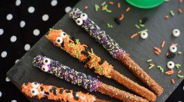 Candy Pretzel Monsters