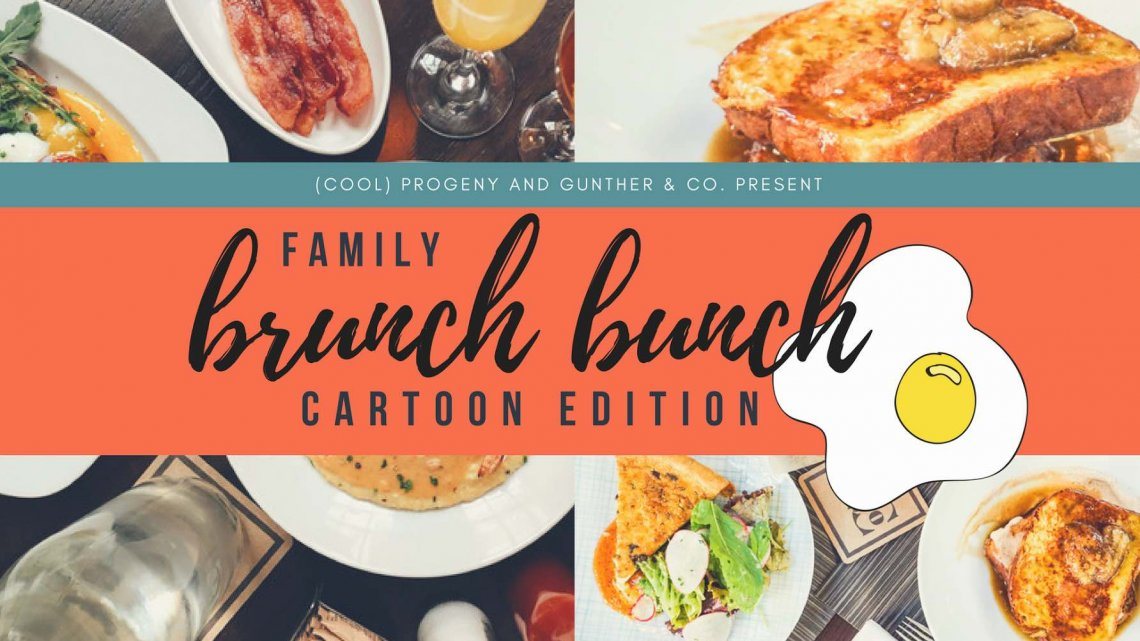 Family Brunch Bunch Cartoon Edition - (cool) progeny