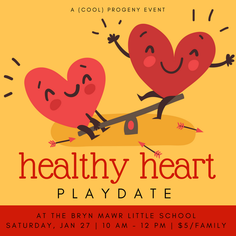 Healthy Heart Play Date 2018 - (cool) progeny