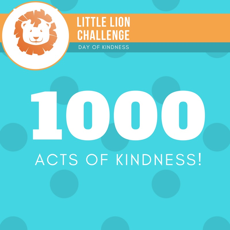 Little Lion Challenge 1000 Acts