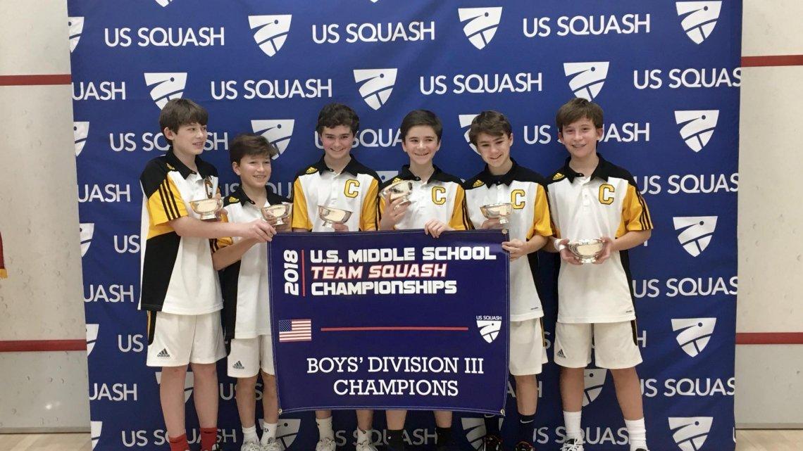 Calvert School Squash Champs - (cool) progeny