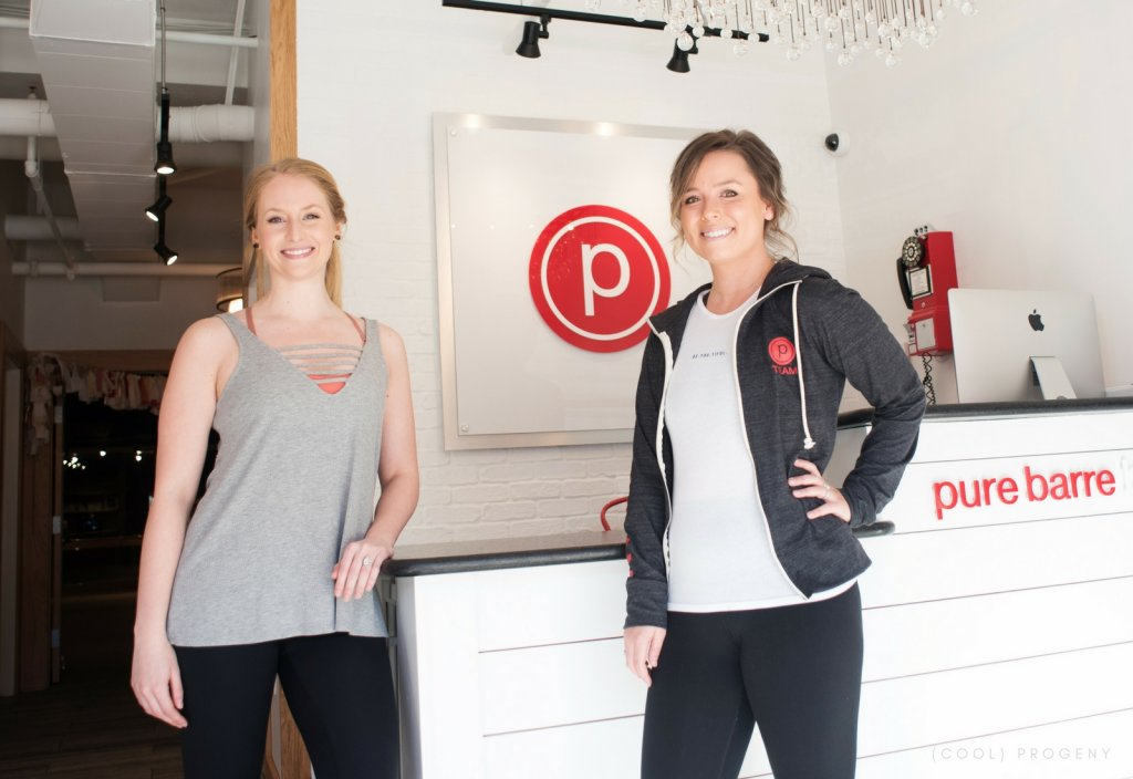 Pure Barre Baltimore - (cool) progeny; Photo by Laura Black