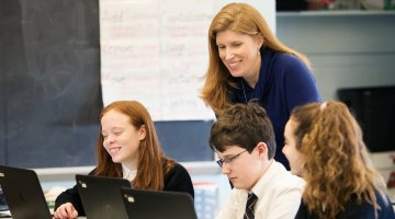 Meet the Principal: Jen Ripley, St. Pius X School - (cool) progeny; Photo by Laura Black