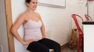 Pure Barre at Home - Reverse Chair, (cool) progeny