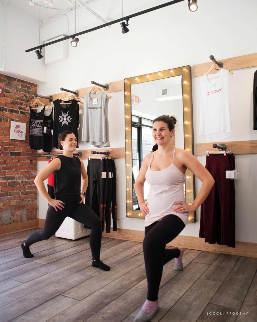 Pure Barre at Home - Lunge, (cool) progeny