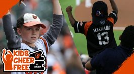 Kids Cheer Free - Baltimore Orioles