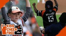 Kids Cheer Free - Baltimore Orioles
