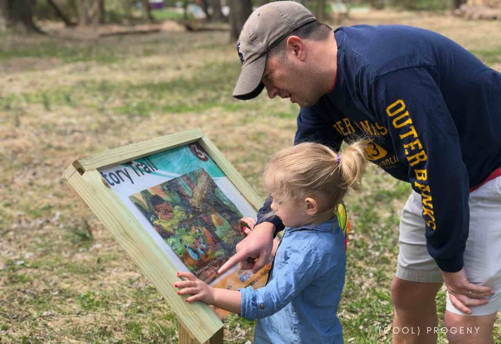 BCPL Story Trail at Benjamin Banneker Park - (cool) progeny