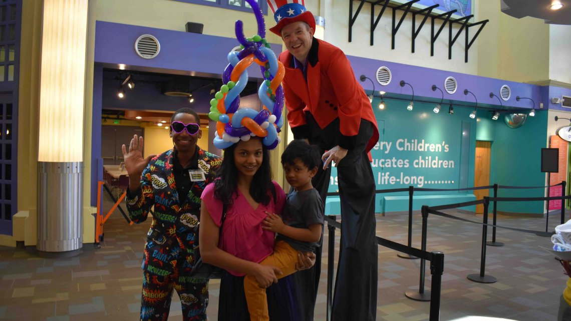 Port Discovery Welcomes 5 Millionth Visitor - (cool) progeny