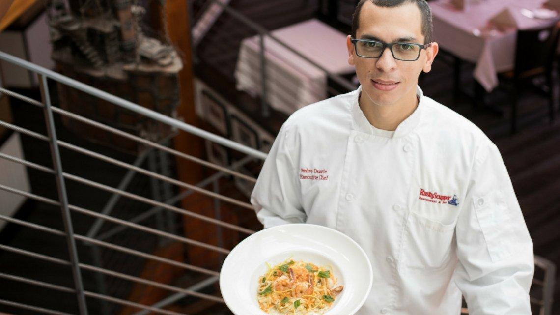 Chef Pedro Duarte - Shrimp Fettuccini