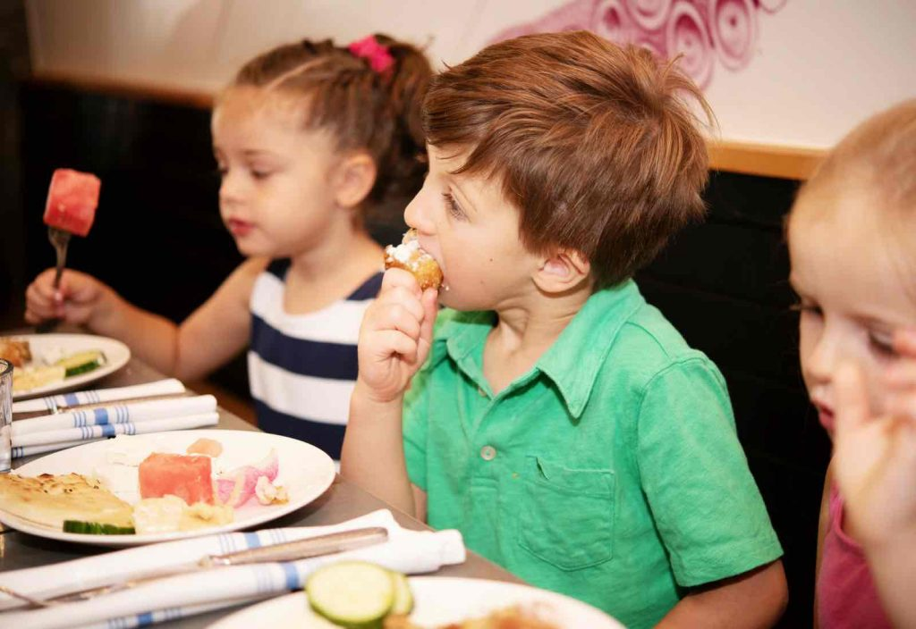 Pint-Sized Dining at Cava Mezze - (cool) progeny