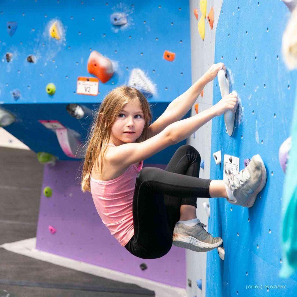 Bouldering - Earth Treks - (cool) progeny