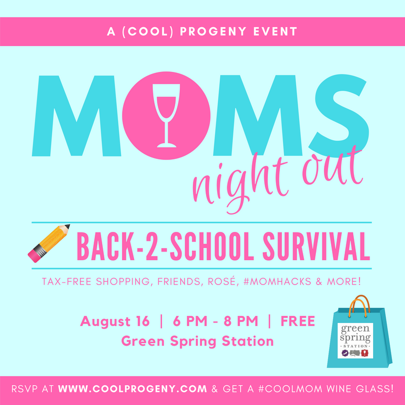 Moms Night Out | Back-to-School Survival - (cool) progeny