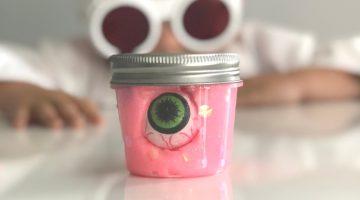 Glow In the Dark Slime - (cool) progeny