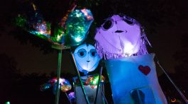 Great Halloween Lantern Parade - Photo Courtesy of Creative Alliance Facebook Page