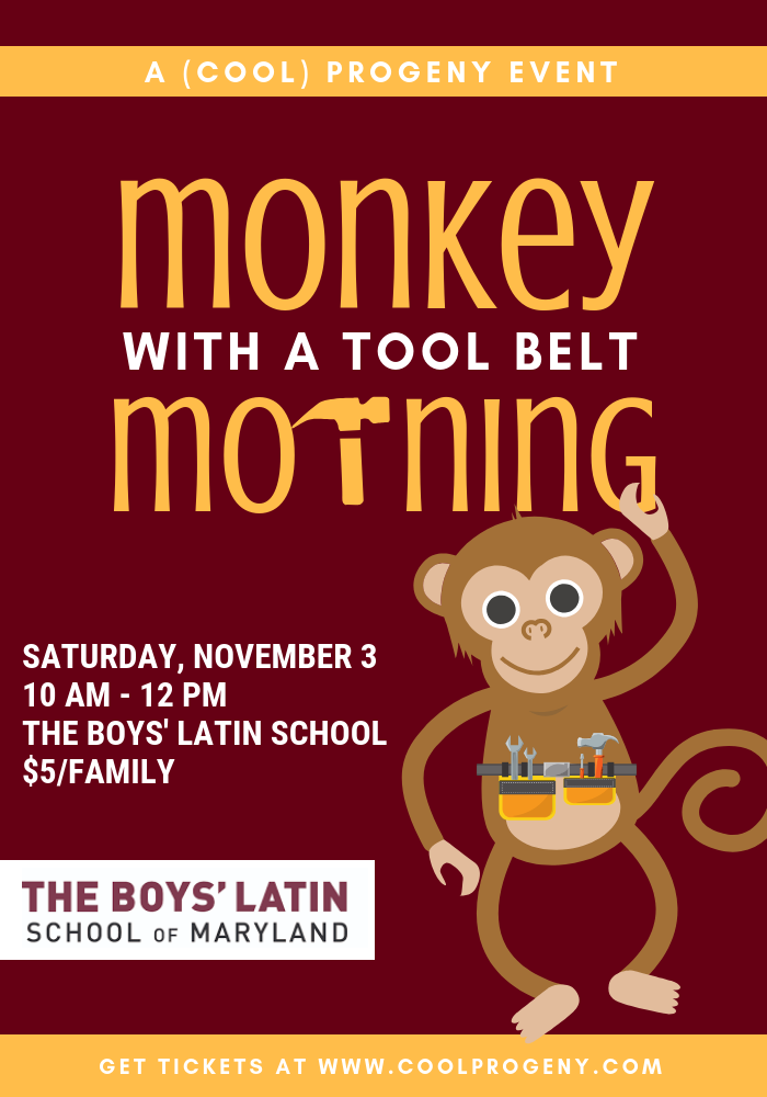 Monkey with a Tool Belt Morning - (cool) progeny
