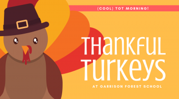Cool Tot Time: Thankful Turkeys