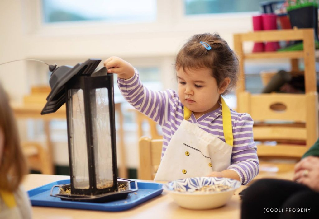 Seeds of Stewardship at Greenspring Montessori School - (cool) progeny - Photo by Laura Black