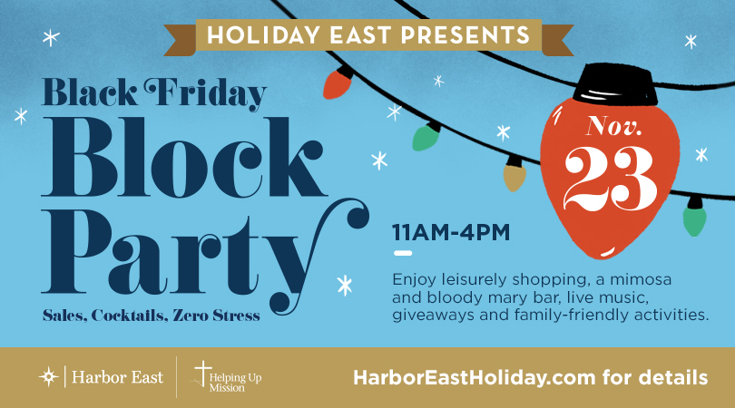 Harbor East Black Friday Block Party