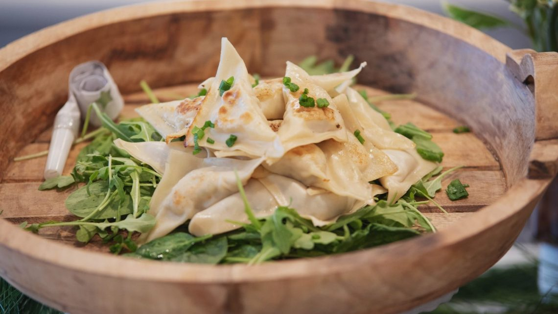 Easy Asian Pork Dumplings