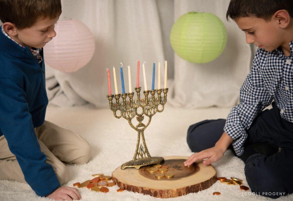Modern Family Holidays - Hanukkah - (cool) progeny - Photo by Laura Black