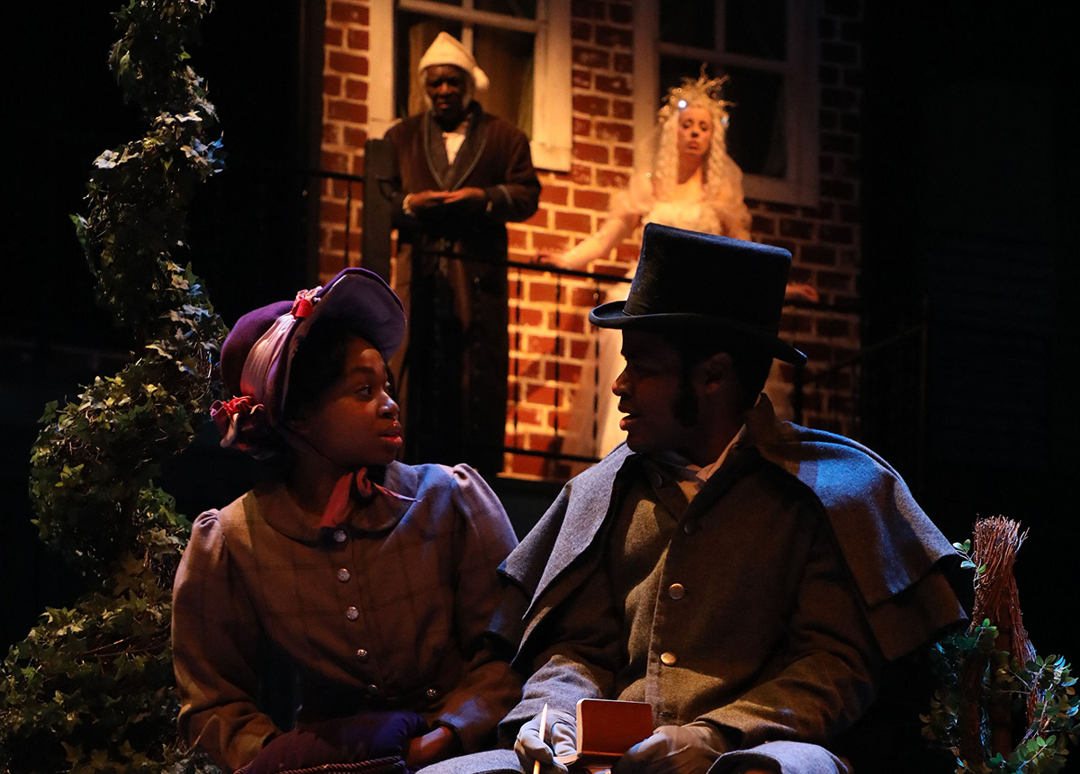 Belle A Christmas Carol.Experience A Christmas Carol Baltimore Style