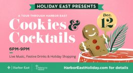 Cookies and Cocktails in Harbor East