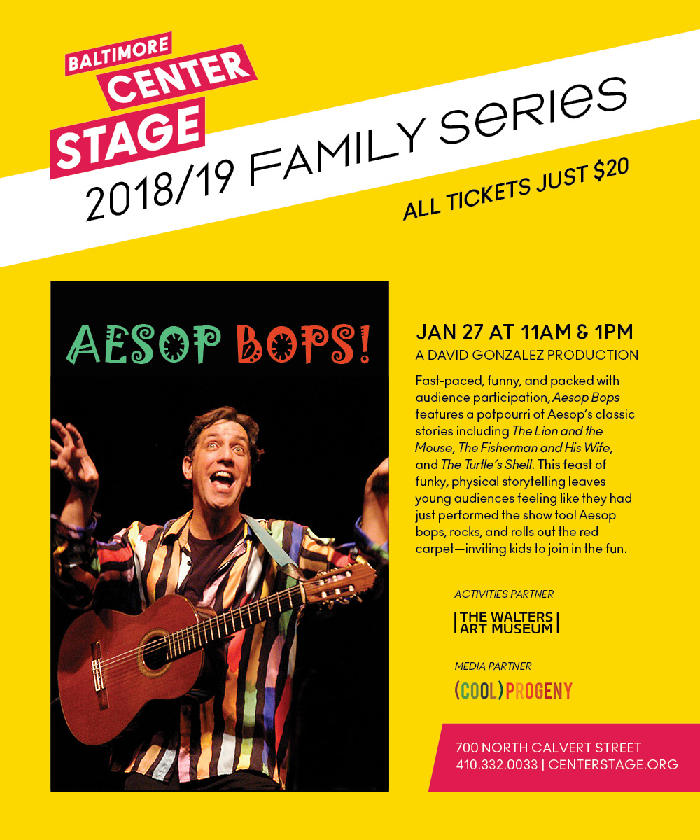 Aesop Bops! at Center Stage