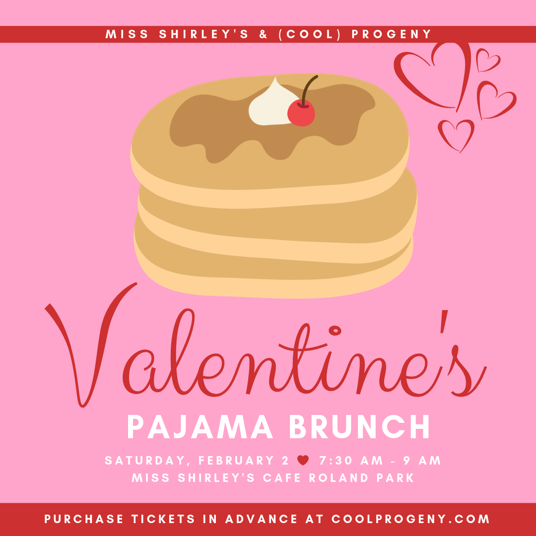 Valentine's Day Pajama Brunch