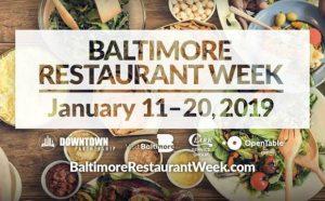Baltimore Restaurant Week 2019