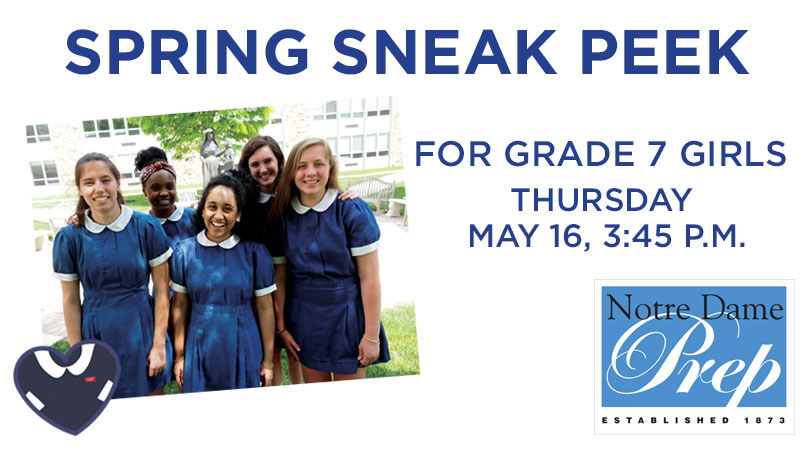 Spring Sneak Peek at NDP
