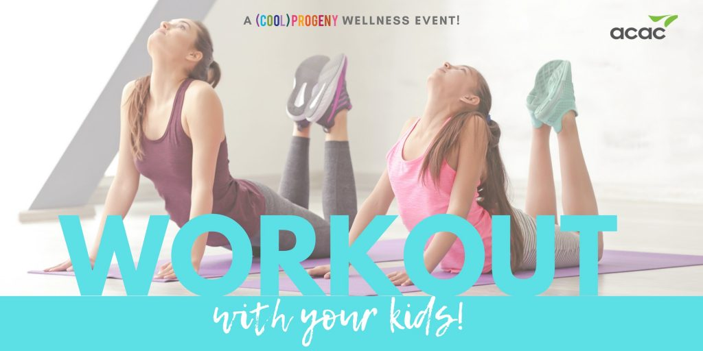 Workout With Your Kids Night - (cool) progeny