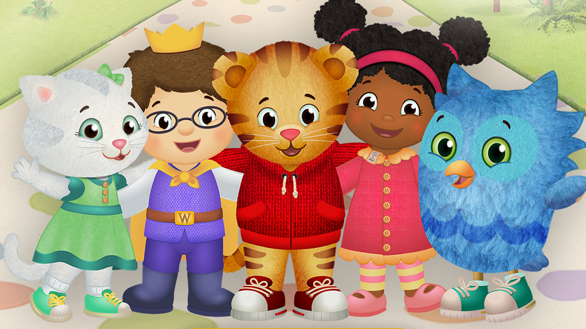 This is a graphic of Obsessed Daniel Tiger Pictures