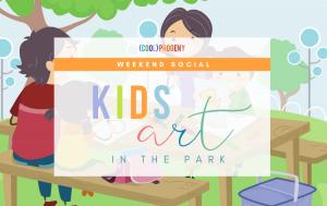 Kids Art in the Park   (cool) progeny