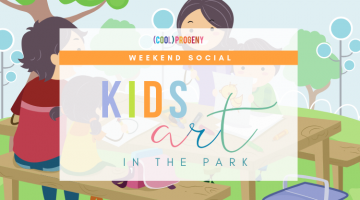 Kids Art in the Park | (cool) progeny