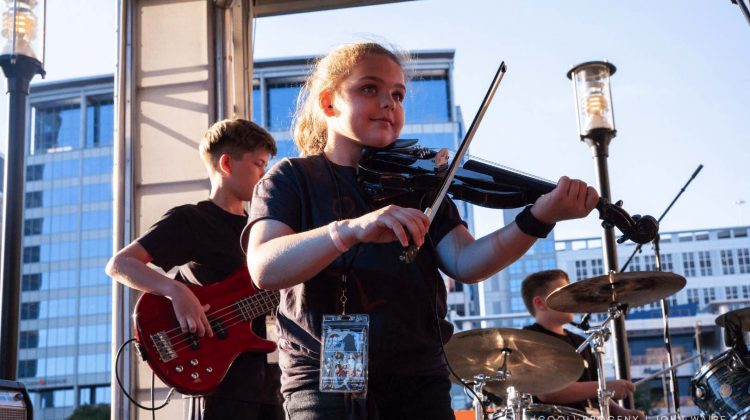(cool) progeny Battle of the Bands: Kids Edition at Hard Rock Cafe | Photo by John Waire