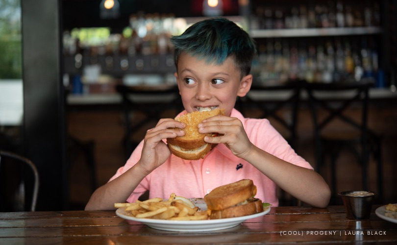 Kid Foodies Take On Mt. Washington Tavern's Crustacean Invasion - (cool) progeny