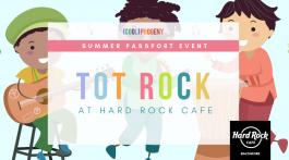 Tot Rock at Hard Rock Cafe