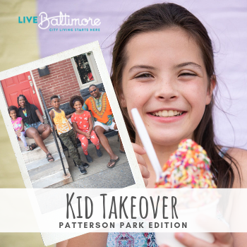 Kid Takeover: Patterson Park