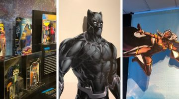 Superheroes at The Reginald F. Lewis Museum