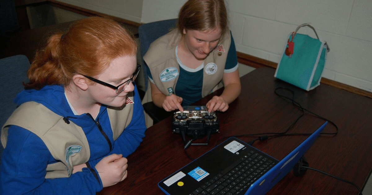 STEAM Ahead with Girl Scouts