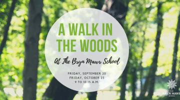 Bryn Mawr School A Walk in the Woods