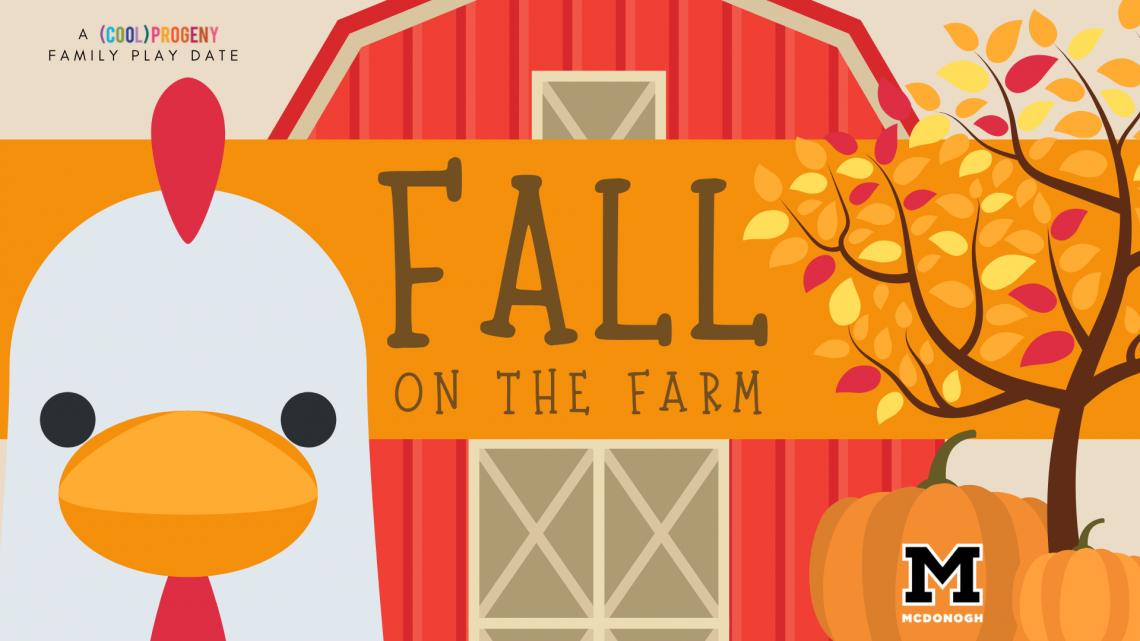 Fall on the Farm | A (cool) progeny Play Date