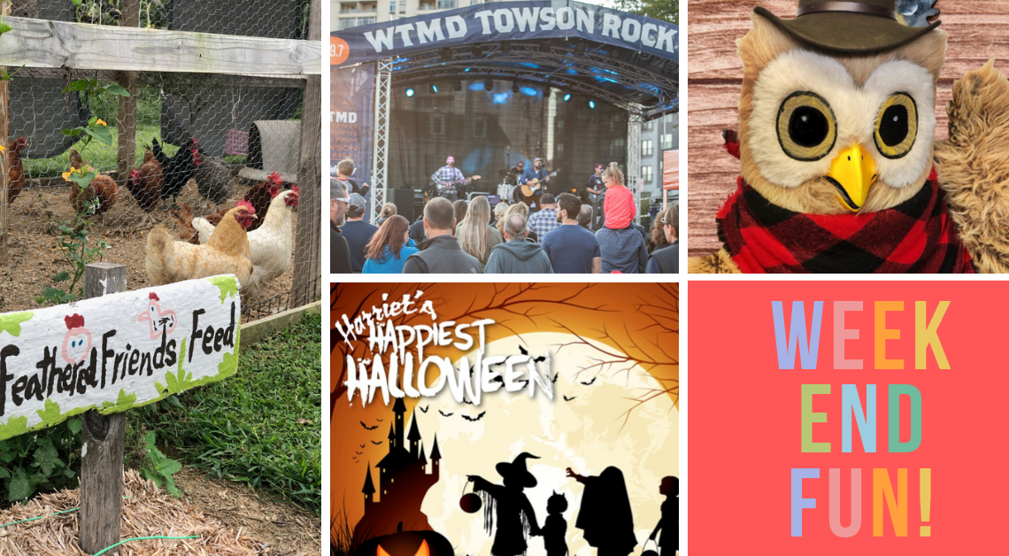 WEEKEND FUN! Baltimore Family Events. October 18-20
