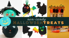 Non-Candy Halloween Treats Kids Will Love