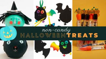Non-Candy Halloween Treats Kids Will Love