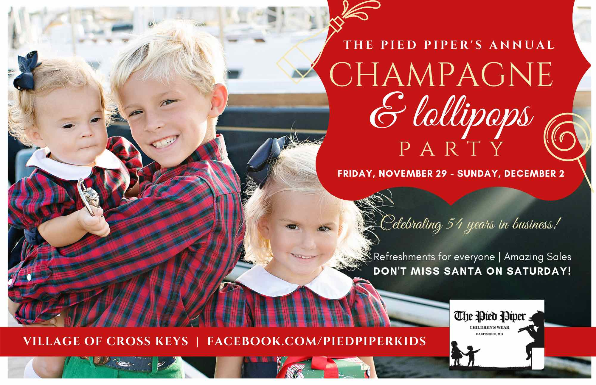 PIED PIPER _ Holiday Guide Ad