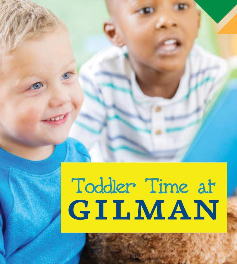 Toddler Time at Gilman