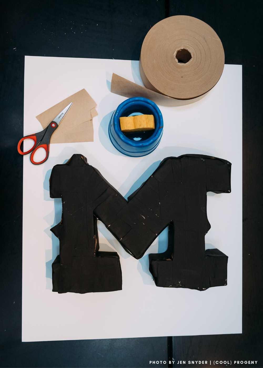 MAKE IT! 3D Letter Art - (cool) progeny