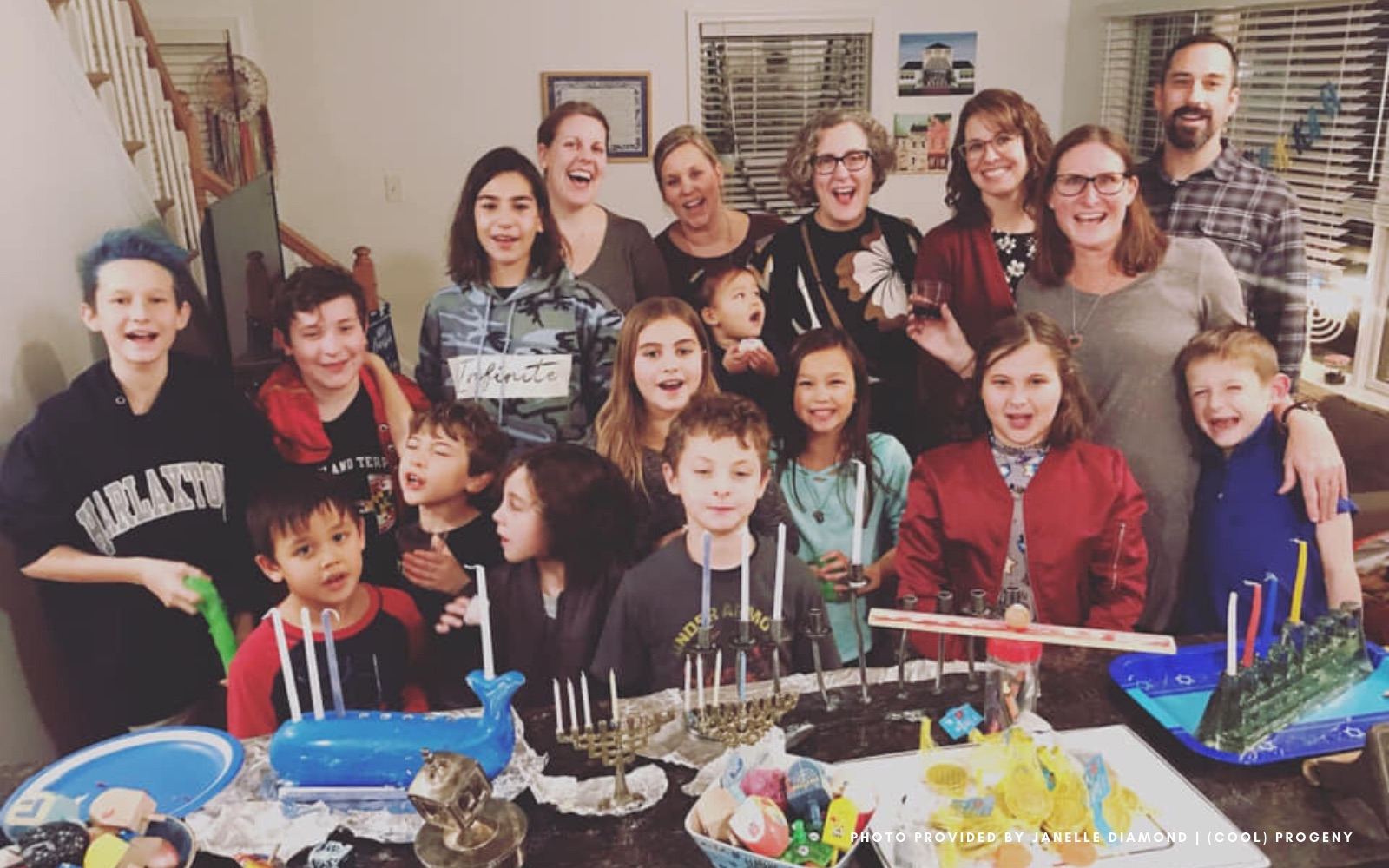 Spreading Hanukkah Cheer One Latke at a Time - (cool) progeny